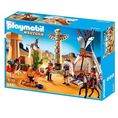 Playmobil WESTERN Western obóz indian z totemem 5247