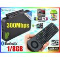 ANDROID SMART TV GOOGLE BOX HDMI WiFi + MEASY RC13