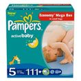 PAMPERS Pieluszki Active Baby Junior 5 (11-18kg) 111 szt.