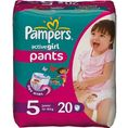 Pampers Active Girl, Junior 5 (12-18 kg) pieluchomajtki 20szt.