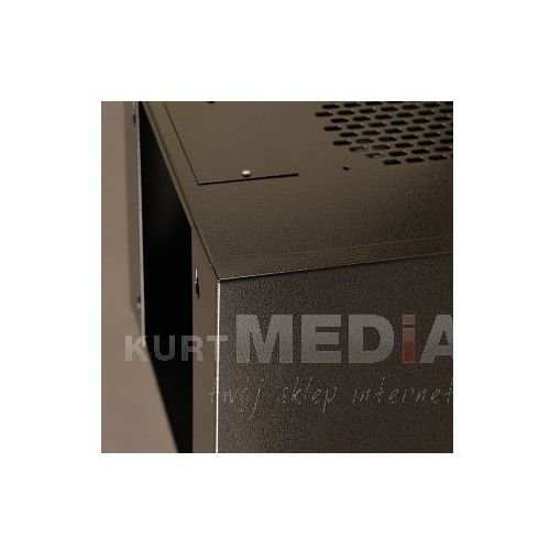 Szafa NetRack wisząca 10, 4.5U/300 mm - grafit, drzwi przeszklone (010-045-300-012)