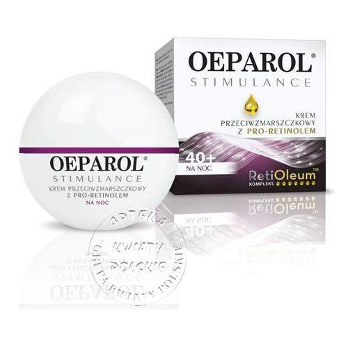 OEPAROL STIMULANCE 40+ krem przeciwzmarszczkowy z pro-retinolem na dzień skóra normalna i mieszana 50 ml