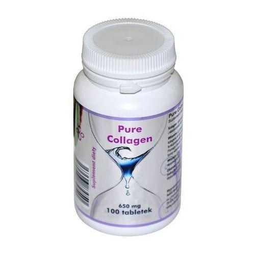 Noble Medica Pure Collagen Kolagen w tabletkach, 100 Tabletek 650 mg