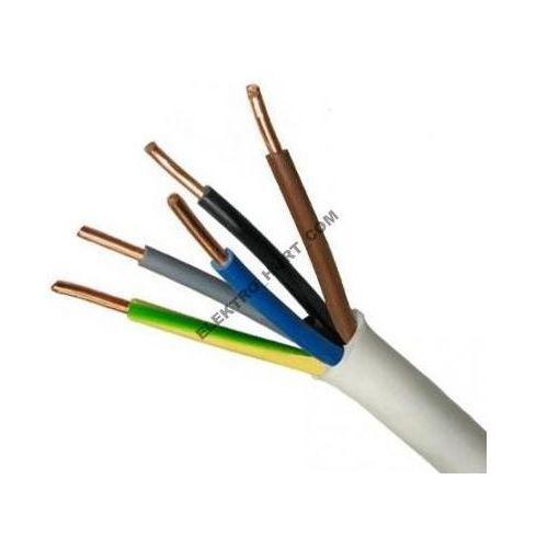 Elektrokabel Przewód instalacyjny okrągły 450/750V YDY 5x6