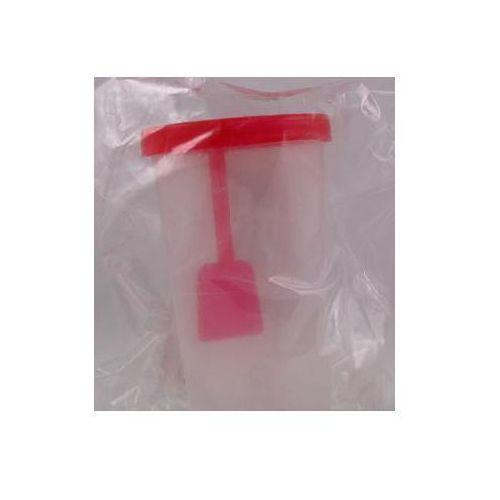 Pojemnik na kał z łopatką sterylny 20 ml