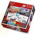 Puzzle Color. Auta Trefl