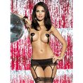 Diamond garter belt S/M